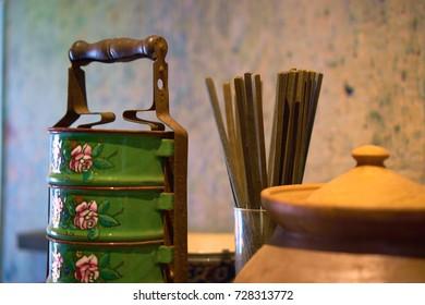 traditional peranak food container