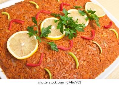 "Traditional polish ""greek style fish"" - Shutterstock ID 87467783"