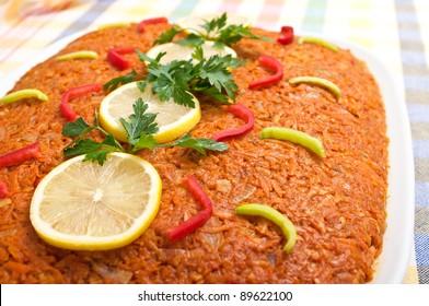 "Traditional polish ""greek style fish"" - Shutterstock ID 89622100"