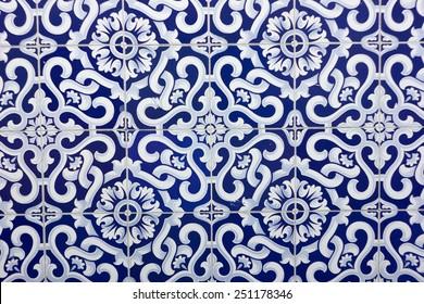 Traditional portuguese tile