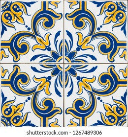 Traditional Portuguese tiles