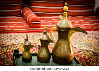 Traditional pots are being largely used in the UAE for preparation of Karak tea prepared on charcoal. The tea contains a rich mixture of Eastern spices (such as cardamon,cloves,saffron etc.) and milk