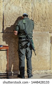 traditional prayer of the Jews at the wailing wall