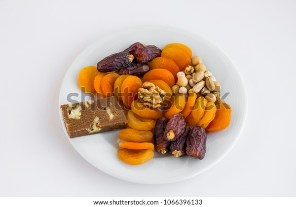 Traditional Ramadaniftar Time Break Fast Plate Stock Photo (Edit Now