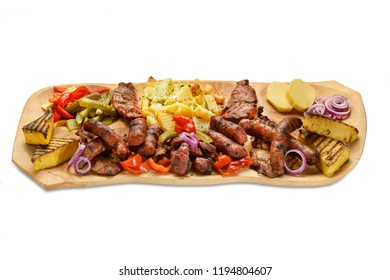 traditional romanian food plate