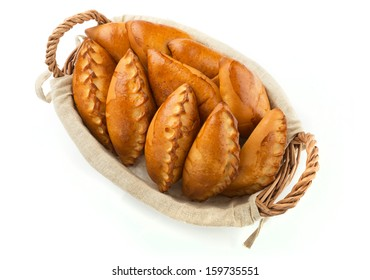 Traditional russian pie
