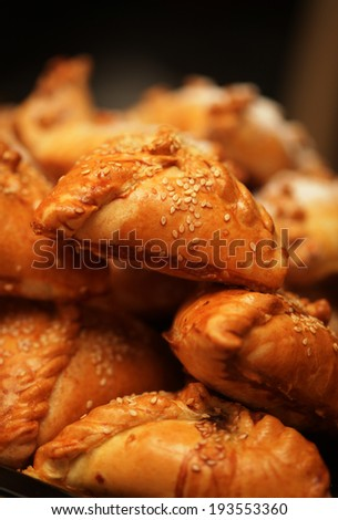 Traditional Russian Pies Good Food Holiday Stock Photo Edit Now