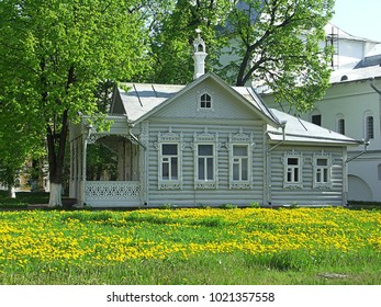 traditional russian wooden house vologda
