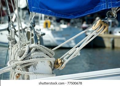 Traditional Sailboat Rigging