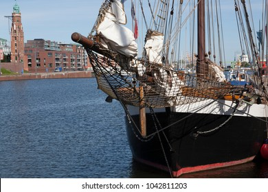 Traditional sailing vessel in Bremerhaven, Germany
