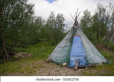 traditional sami tent