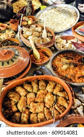 Traditional Serbian cuisine prepared meals