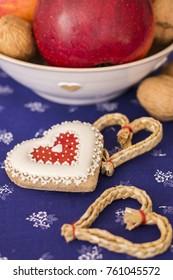 Traditional Slavic Christmas decorations - Shutterstock ID 761045572