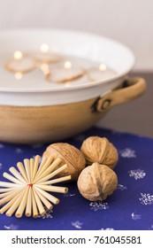 Traditional Slavic Christmas decorations - Shutterstock ID 761045581