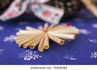 Traditional Slavic Christmas decorations - Shutterstock ID 761045584