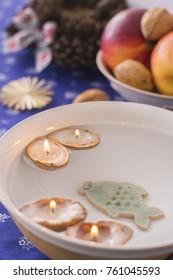 Traditional Slavic Christmas decorations - Shutterstock ID 761045593
