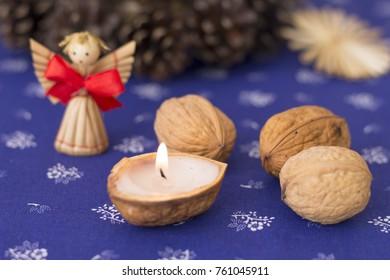 Traditional Slavic Christmas decorations - Shutterstock ID 761045911