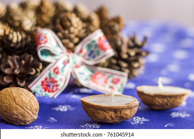 Traditional Slavic Christmas decorations - Shutterstock ID 761045914