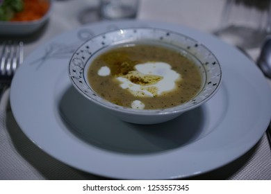 "Traditional soup called ""sikicik"" from Kütahya"