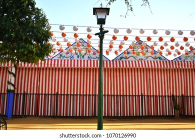 Traditional Spanish Event (La Feria de Sevilla 2018) Seville´s Fair