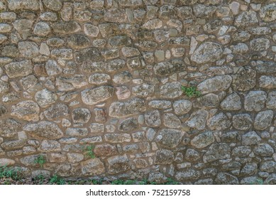 Traditional stone wall