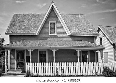 A traditional style older home.