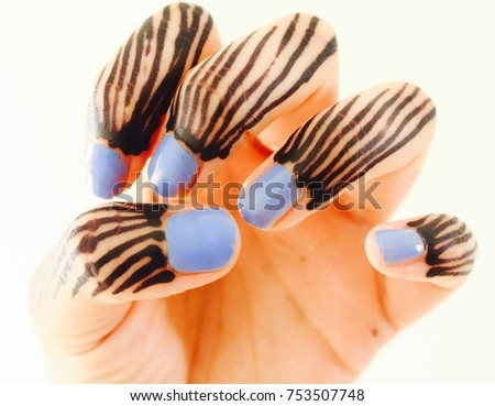 Traditional Sudanese Henna On Hands Stock Photo Edit Now 753507748