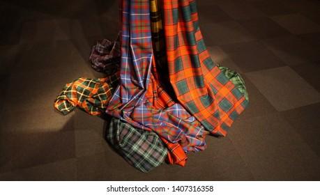 traditional tartan color patarn (Scotlaand)