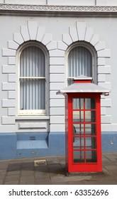A traditional telephone box in Albany, Western Australia.