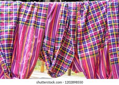 Traditional Thai cloth loincloth worn since ancient times.