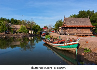 Traditional Thai Fisherman Village