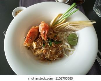 Traditional Thai food Padthai