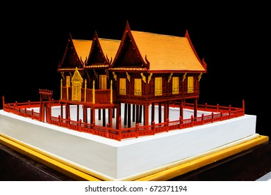 Traditional Thai style house