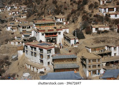 traditional tibetan village