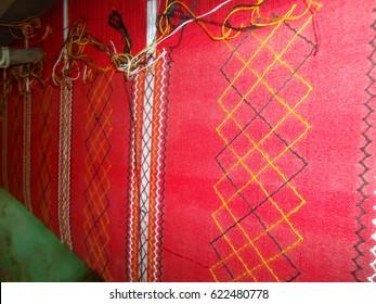 Traditional Tribal Dress weaving of Apatani Tribe, Ziro, Arunachal Pradesh