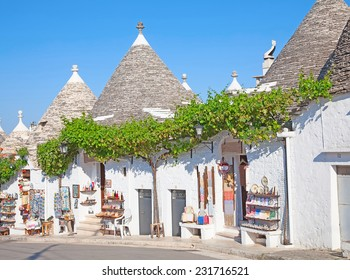 "Traditional ""Trulli"" houses of the Apulia region"