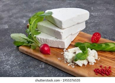 Traditioneller türkischer Käse, Tulumkäse. Köstlicher Tulumkäse aus Erzincan, Türkei.