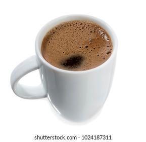 Traditional Turkish Coffee Isolated