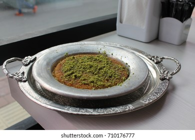traditional turkish dessert künefe