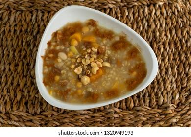 Traditional Turkish Dessert Ashure or ashura