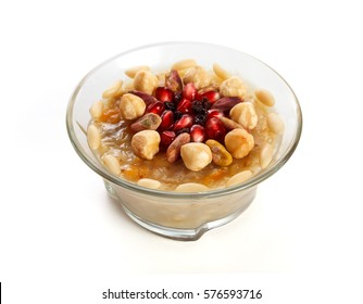Traditional Turkish dessert ashure - Noah's Pudding