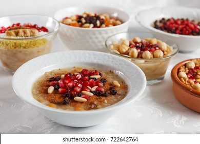 Traditional Turkish dessert ashure - Noah's Pudding