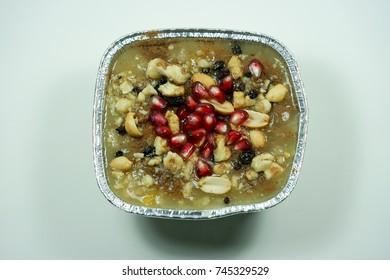Traditional Turkish dessert Asure