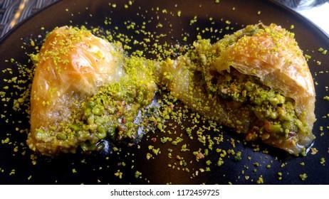 Traditional Turkish Dessert Baklava Sobiyet