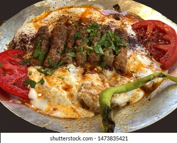 Traditional Turkish  Kebab which is famous in Manisa region of Turkey.