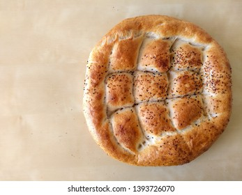 traditional turkish pita bread, it is done in ramadan, eaten in sahur and iftar