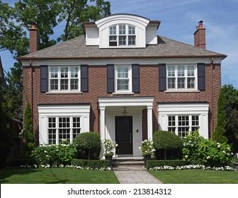 Brick House Images Stock Photos Amp Vectors Shutterstock