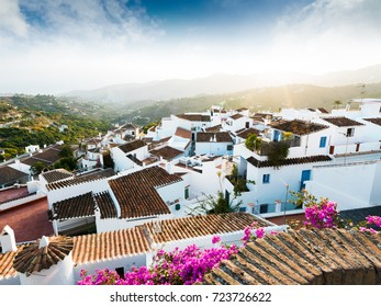 Traditional village of Frigiliana, Costa del Sol, Andalusia, Spain