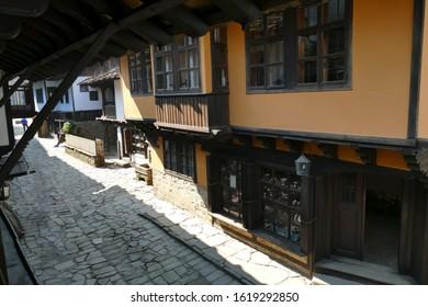 Traditional village houses, Ethnographic village, Etura, Gabravo, Bulgaria