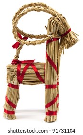 Traditional vintage scandinavian christmas decoration, fertility symbol